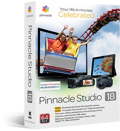 pinnacle studio editing software free full version