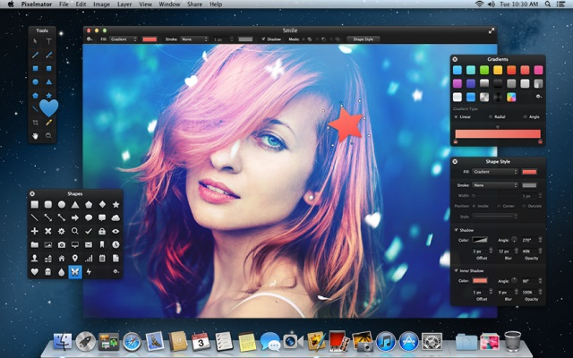 editing with pixelmator