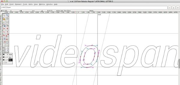 font-tools-fontforge