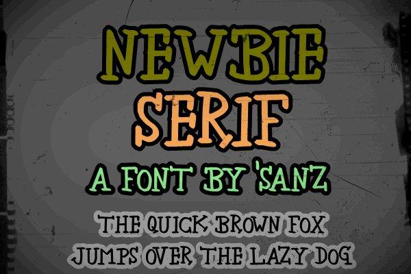 handwriting-fonts-newbieserif