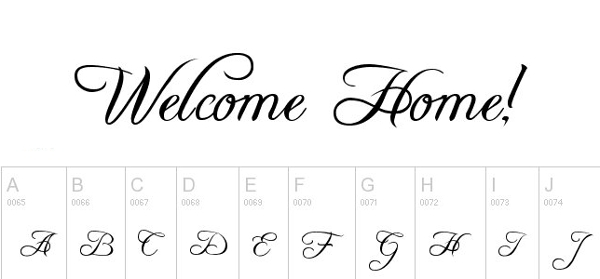 30 Best Free Monogram Fonts For Designers in 2015