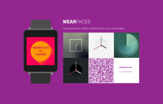 Android Wear Faces Creator