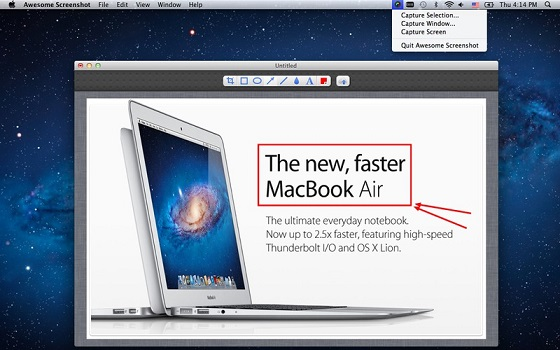Awesome Screenshot for Safari
