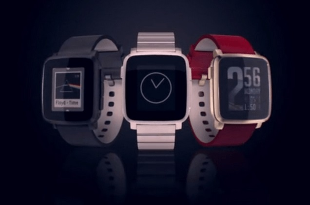 PebbleTimeSteel - Best smartwatch
