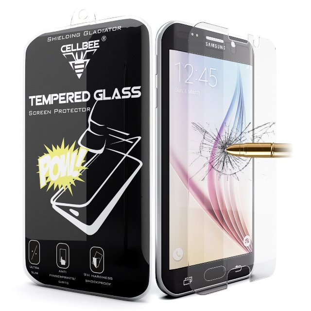 CellBee Galaxy S6 Screen Protector