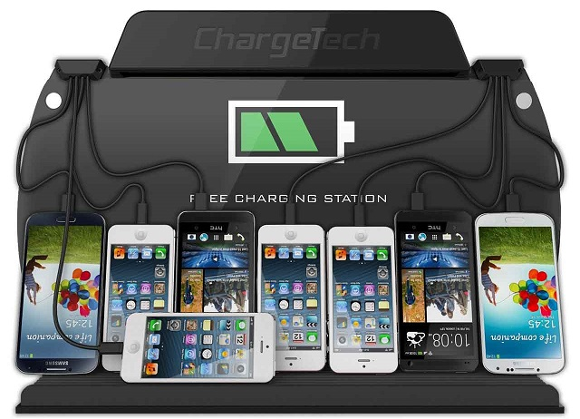 ChargeAll-Wall-Mounted-Charging-Station