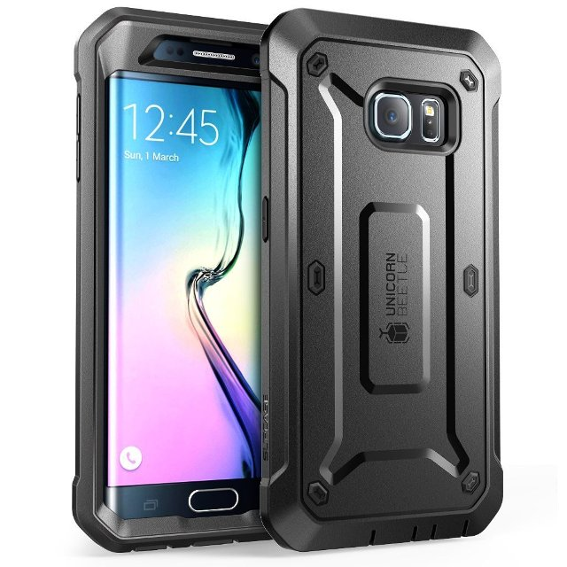SUPCASE Rugged Holster Case for Galaxy S6 Edge