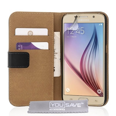Yousave-Accessories-Leather-Wallet-Cover-Galaxy-S6-Case