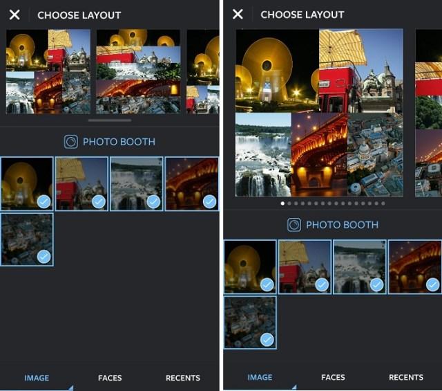 Combine Multiple Instagram Photos