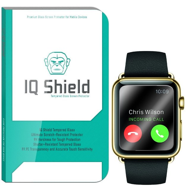 IQ Shield Tempered Glass Apple Watch Screen Protector