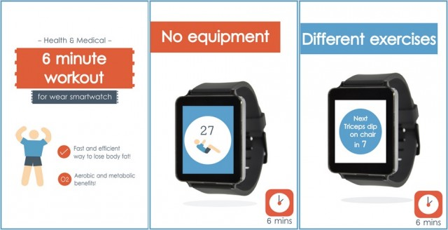 Workout for Android Wear