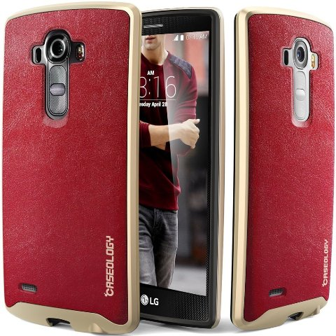 Caseology LG G4 Leather Case