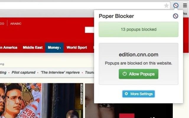Poper Blocker