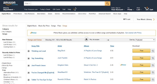 Amazon-MP3