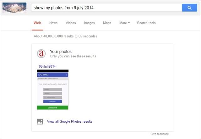 Search your Photos
