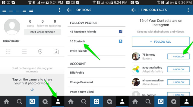 How to find people on instagram find people on instagram 3 ccuart Choice Image