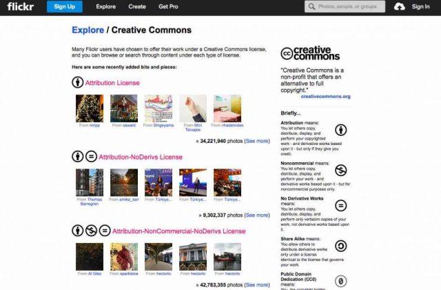 Flickr - бесплатные картинки