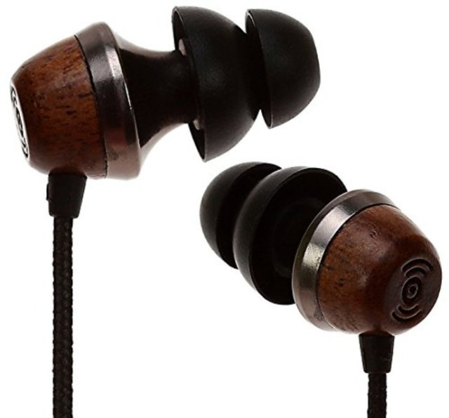 Symphonized ALN Wood Earbuds