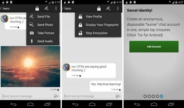 ChatSecure Messenger App