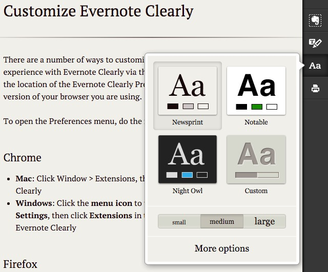 Evernote X 06a - Customize Theme