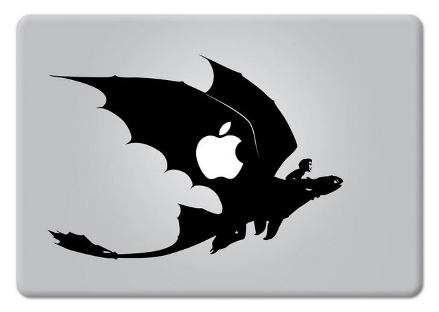 How to train your dragon Macbook Decal Sticker