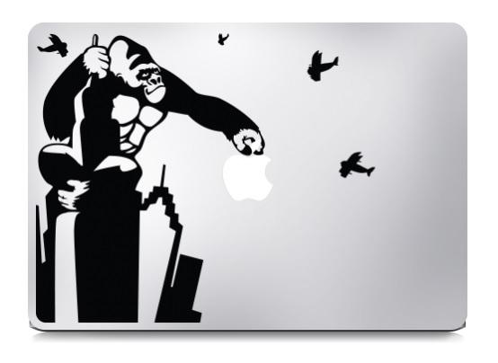 King Kong Macbook Decal Sticker