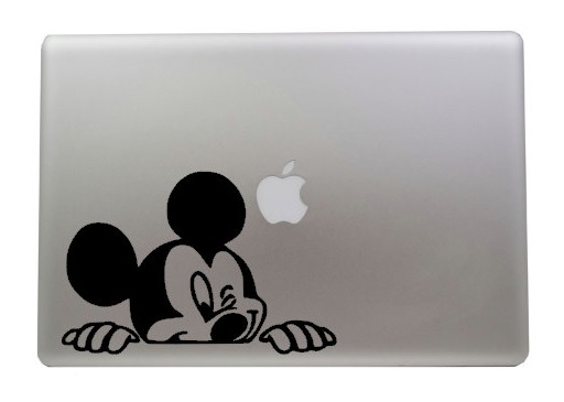 Mickey Macbook Decal Sticker