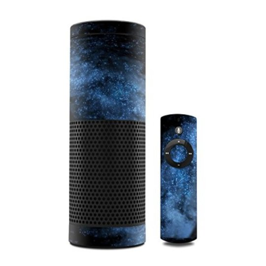 MyGift Milky Way Design Decal Skin Sticker for Amazon Echo