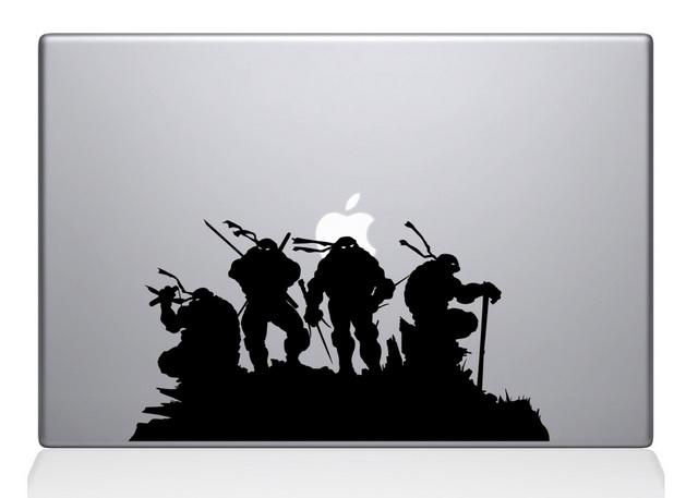 Ninja Turtles Macbook Decal Sticker