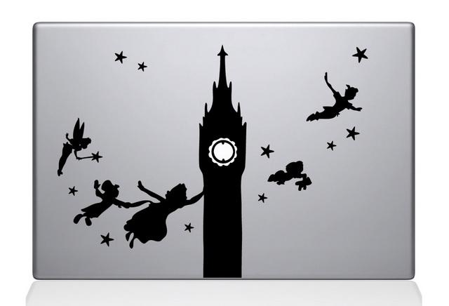 Peter Pan Macbook Decal Sticker