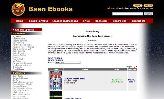 baenebooks