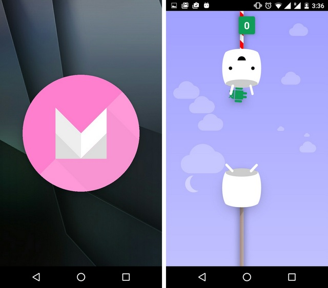 Android 6.0 Marshmallow easter egg