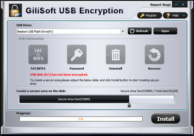 gillisoft usb encryption