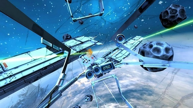 End Space VR game