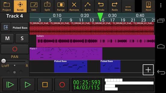 Альтернативы Garageband -bb- аудио evloution 1