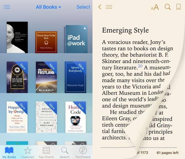 Commuting -bb- iBooks