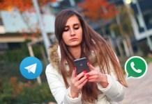 Telegram vs Whatsapp Messenger