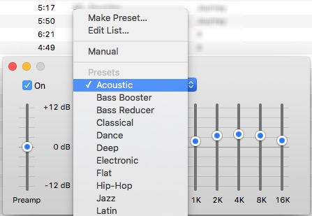 iTunes Tips -bb- Pre set sound