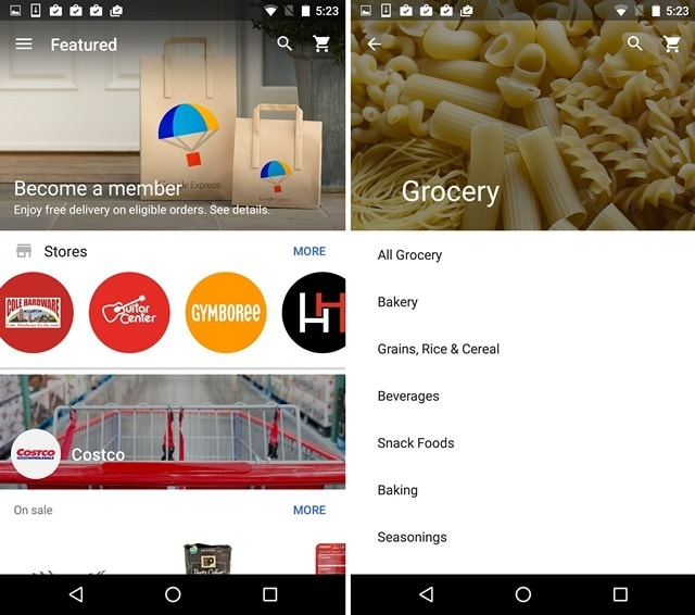 Google Express App