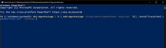 7. Не могу открыть меню «Пуск» в Windows 10