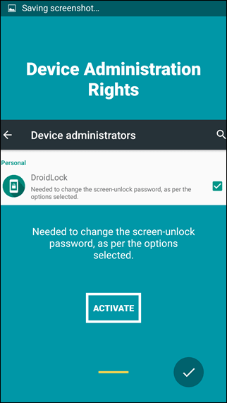 activate Device Admin