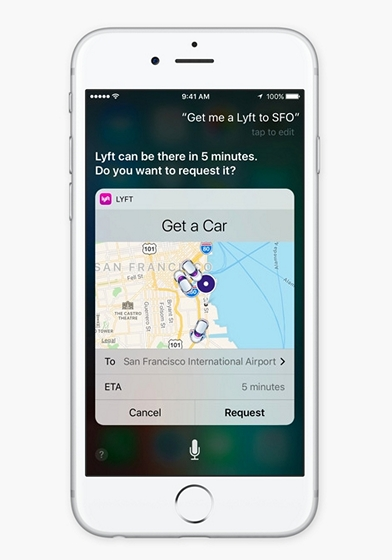 Siri improvements iOS 10