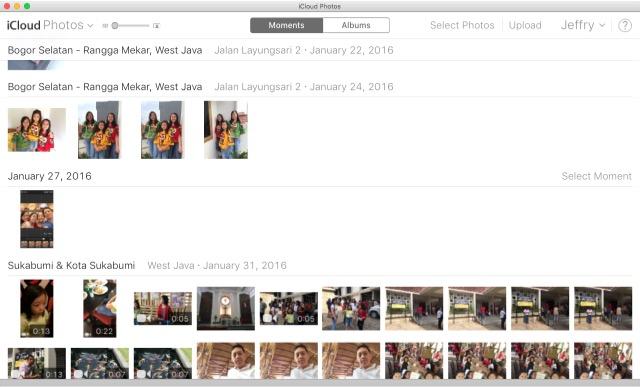 iCloud -bb- Photo Moments