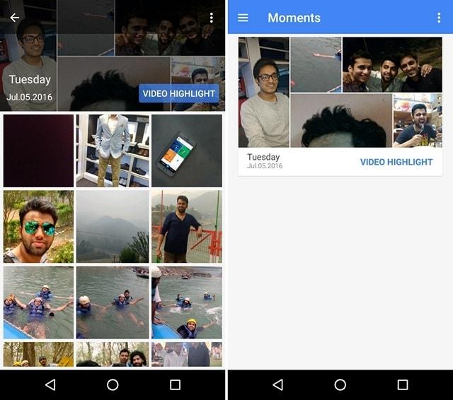 FlickMoment Gallery App