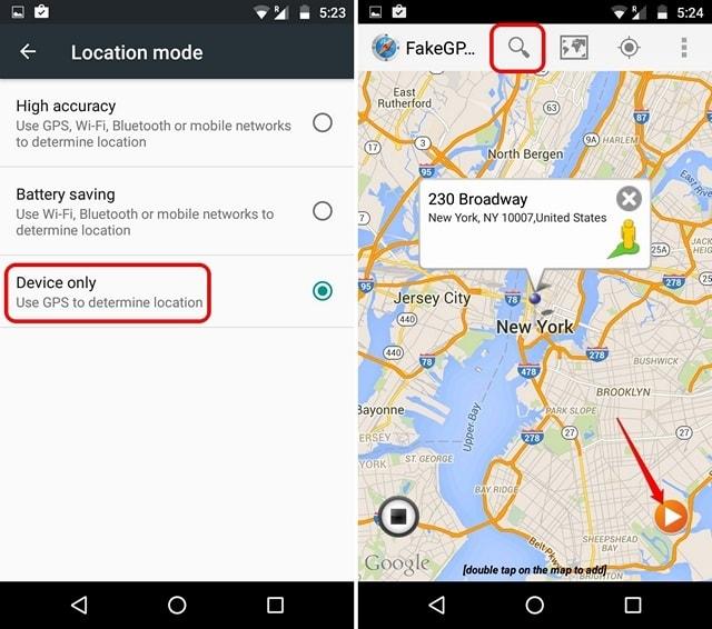 Configuración de ubicación y aplicación de falsificación de ubicación falsa-min (1)