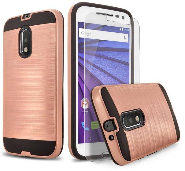 Moto G4 2 piece style case