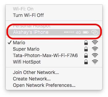 ver las contraseñas wifi del iphone guardadas conectar el punto de acceso personal
