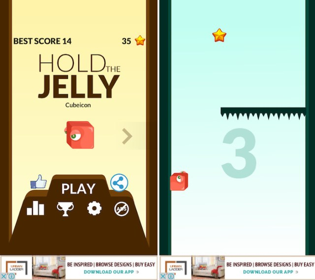 latest iPhone games hold the jelly