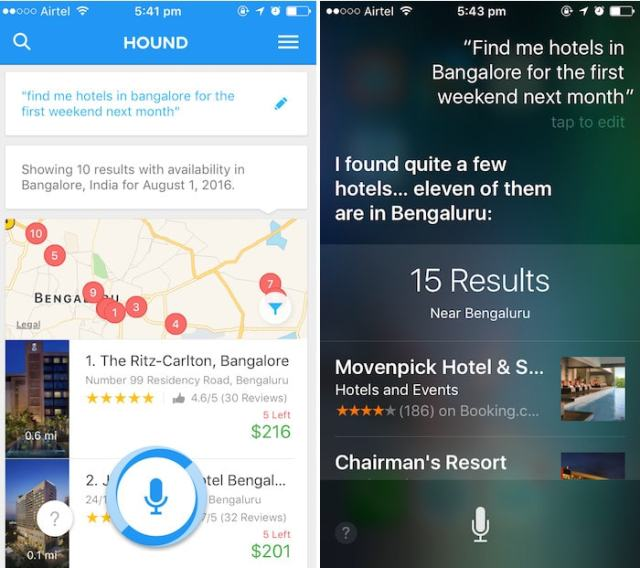 hound ai assistant hotel inquiry-min
