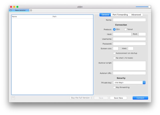 PuTTY alternatives for Mac